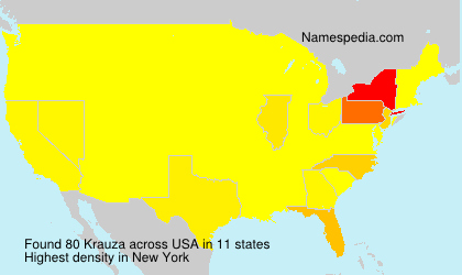 Surname Krauza in USA