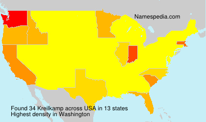 Surname Kreilkamp in USA