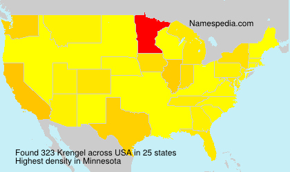 Surname Krengel in USA