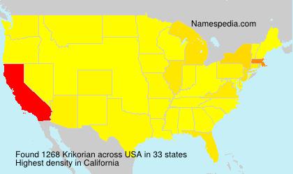 Krikorian - USA