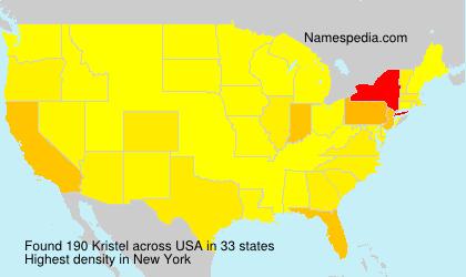 Surname Kristel in USA