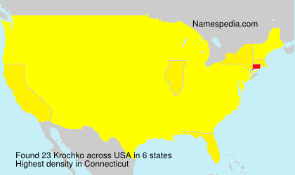 Surname Krochko in USA