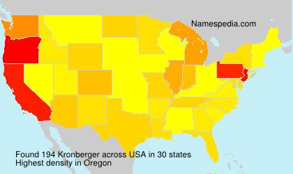 Kronberger - USA