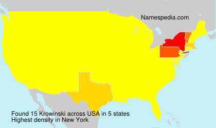 Surname Krowinski in USA