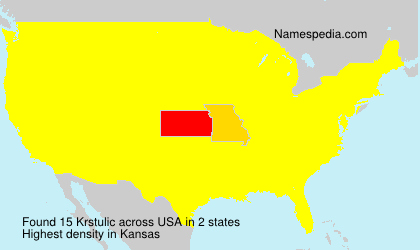 Surname Krstulic in USA