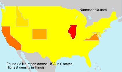 Surname Krumpen in USA