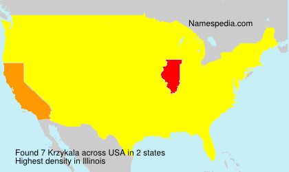 Surname Krzykala in USA
