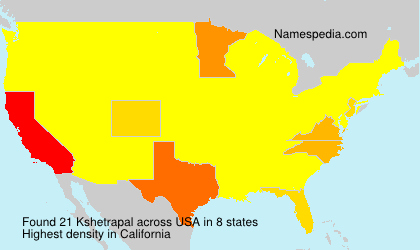 Surname Kshetrapal in USA