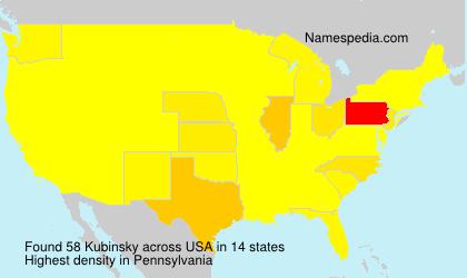 Kubinsky - USA