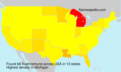 Surname Kuehnemund in USA