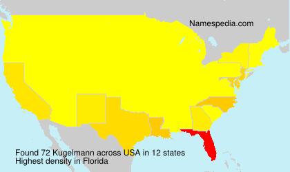 Familiennamen Kugelmann - USA