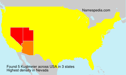 Surname Kuglmeier in USA