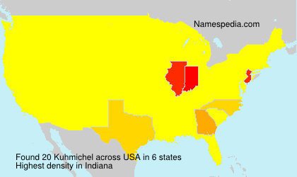 Surname Kuhmichel in USA