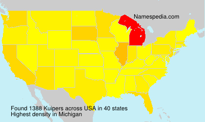 Surname Kuipers in USA