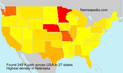 Surname Kujath in USA
