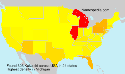 Surname Kukulski in USA