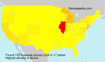 Surname Kulawiak in USA