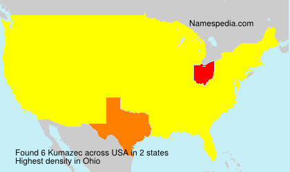 Surname Kumazec in USA