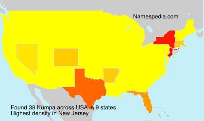 Surname Kumpa in USA