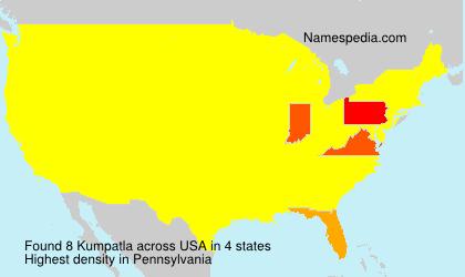 Surname Kumpatla in USA