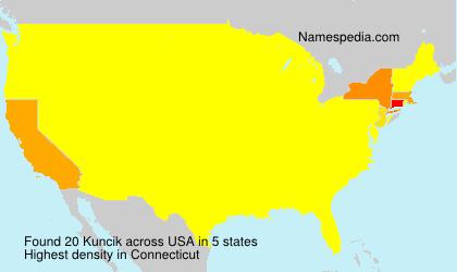 Kuncik - USA