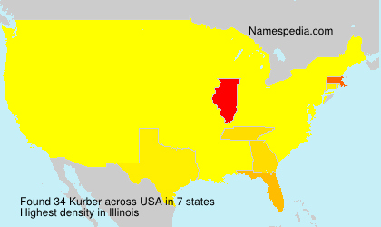 Surname Kurber in USA