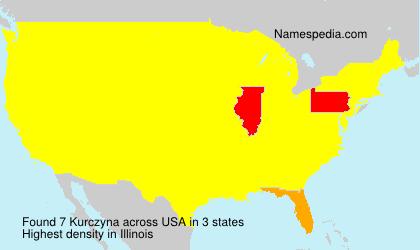 Kurczyna - USA