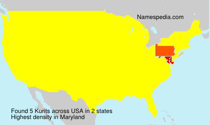 Surname Kurits in USA