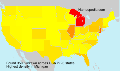 Surname Kurzawa in USA