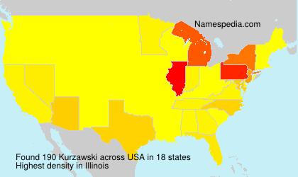 Surname Kurzawski in USA
