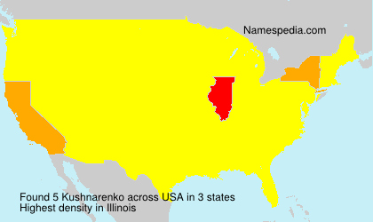 Surname Kushnarenko in USA