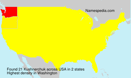 Surname Kushnerchuk in USA