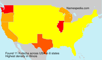 Surname Kutscha in USA