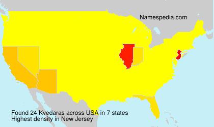 Kvedaras - USA
