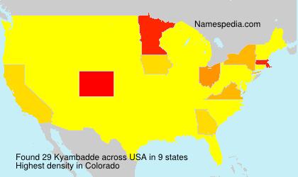 Kyambadde - USA