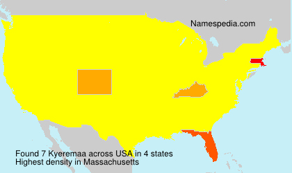 Kyeremaa - USA