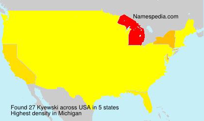 Kyewski - USA
