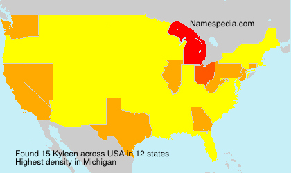 Surname Kyleen in USA