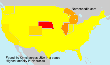 Surname Kyncl in USA