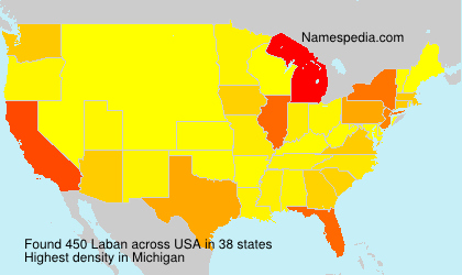 Surname Laban in USA