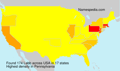 Surname Labb in USA
