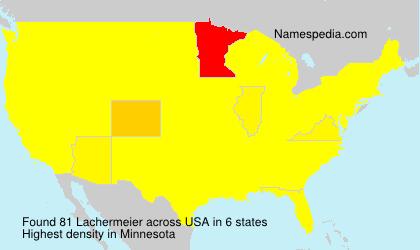 Surname Lachermeier in USA
