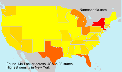 Surname Lacker in USA