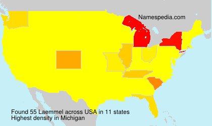 Familiennamen Laemmel - USA