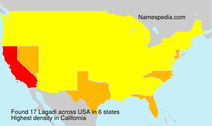 Surname Lagadi in USA