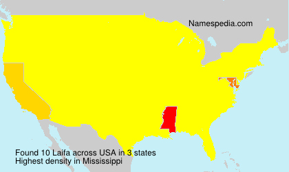 Surname Laifa in USA