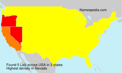Surname Laiji in USA