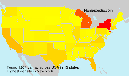 Surname Lamay in USA