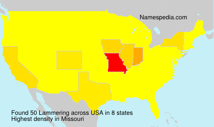 Surname Lammering in USA
