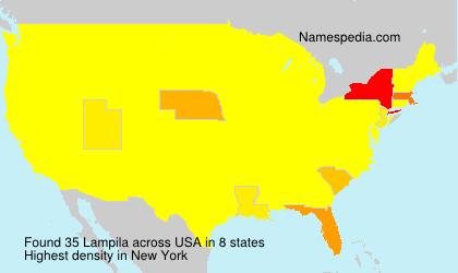 Surname Lampila in USA